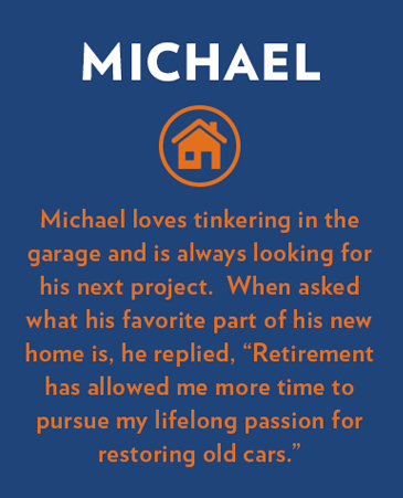 Michael, Bethesda Senior Living Communities Garden Homes, CO