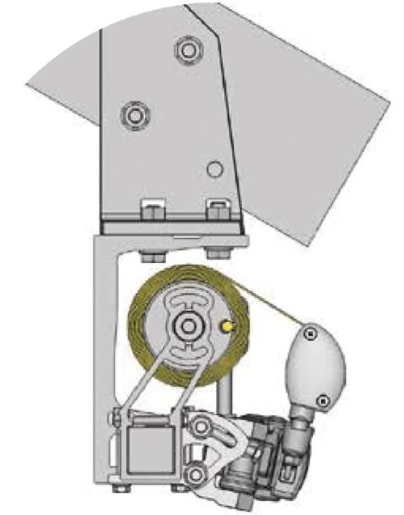 Illustration Dachsparrenmontage
