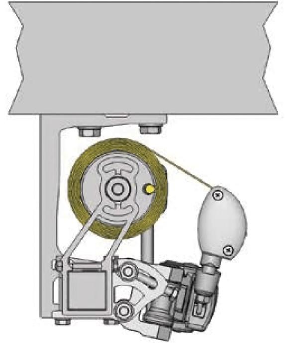 Illustration Deckenmontage