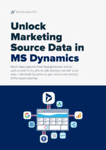 Unlock Marketing Source Data in Microsoft Dynamics