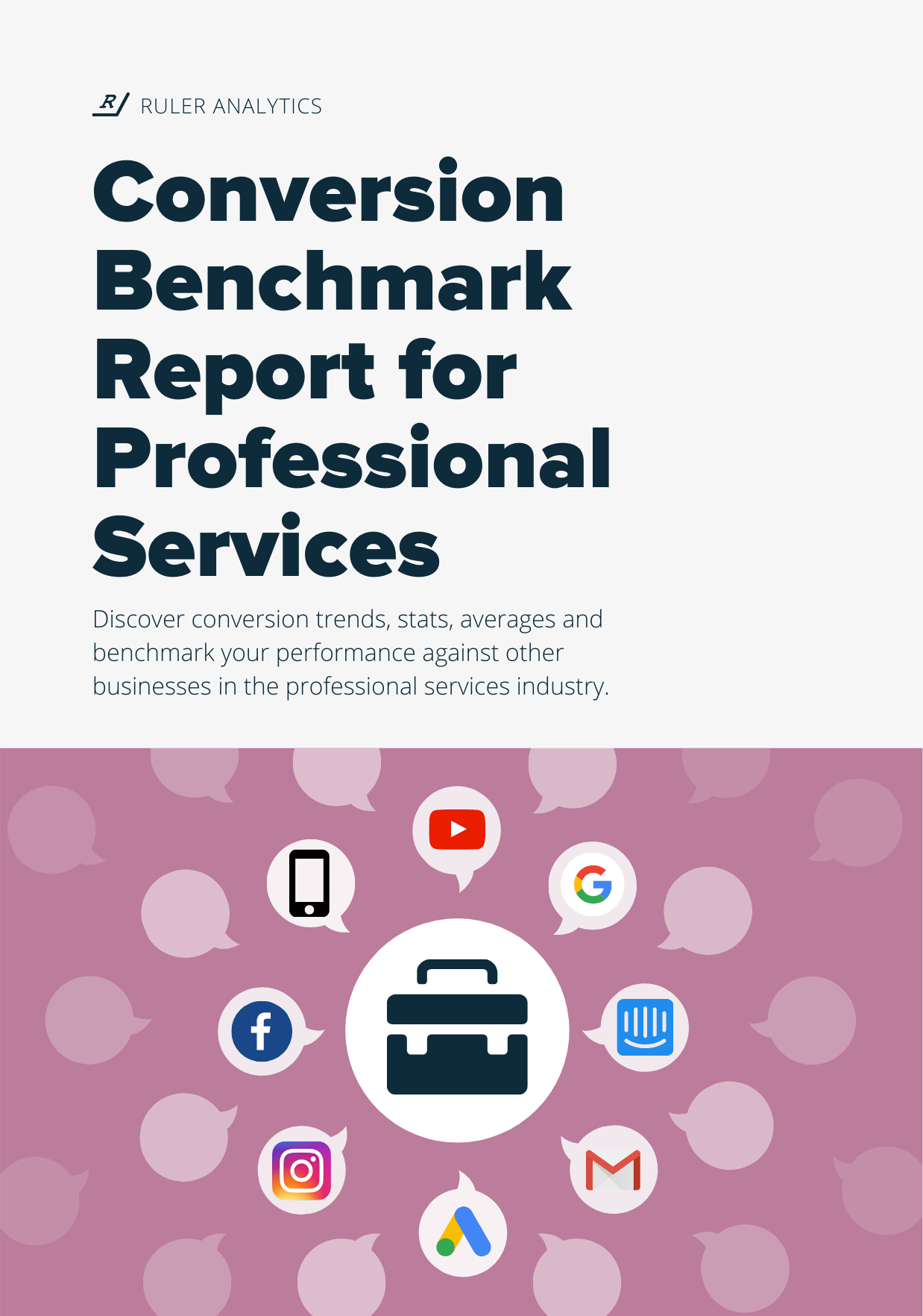 Conversion Benchmark Report for Professional Services