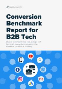 Conversion Benchmark Report for B2B Tech