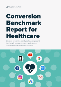 Conversion Benchmark Report for Healthcare