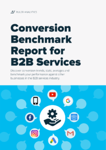 Conversion Benchmark Report for B2B Services