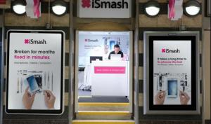 ismash outdoor ad