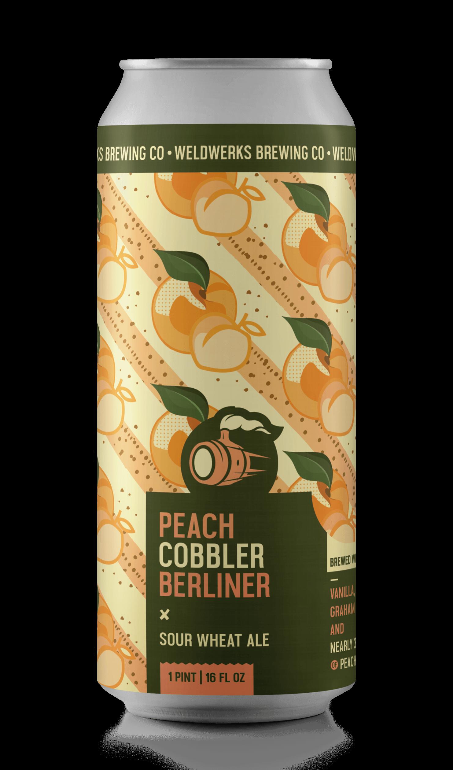 Peach Cobbler Berliner