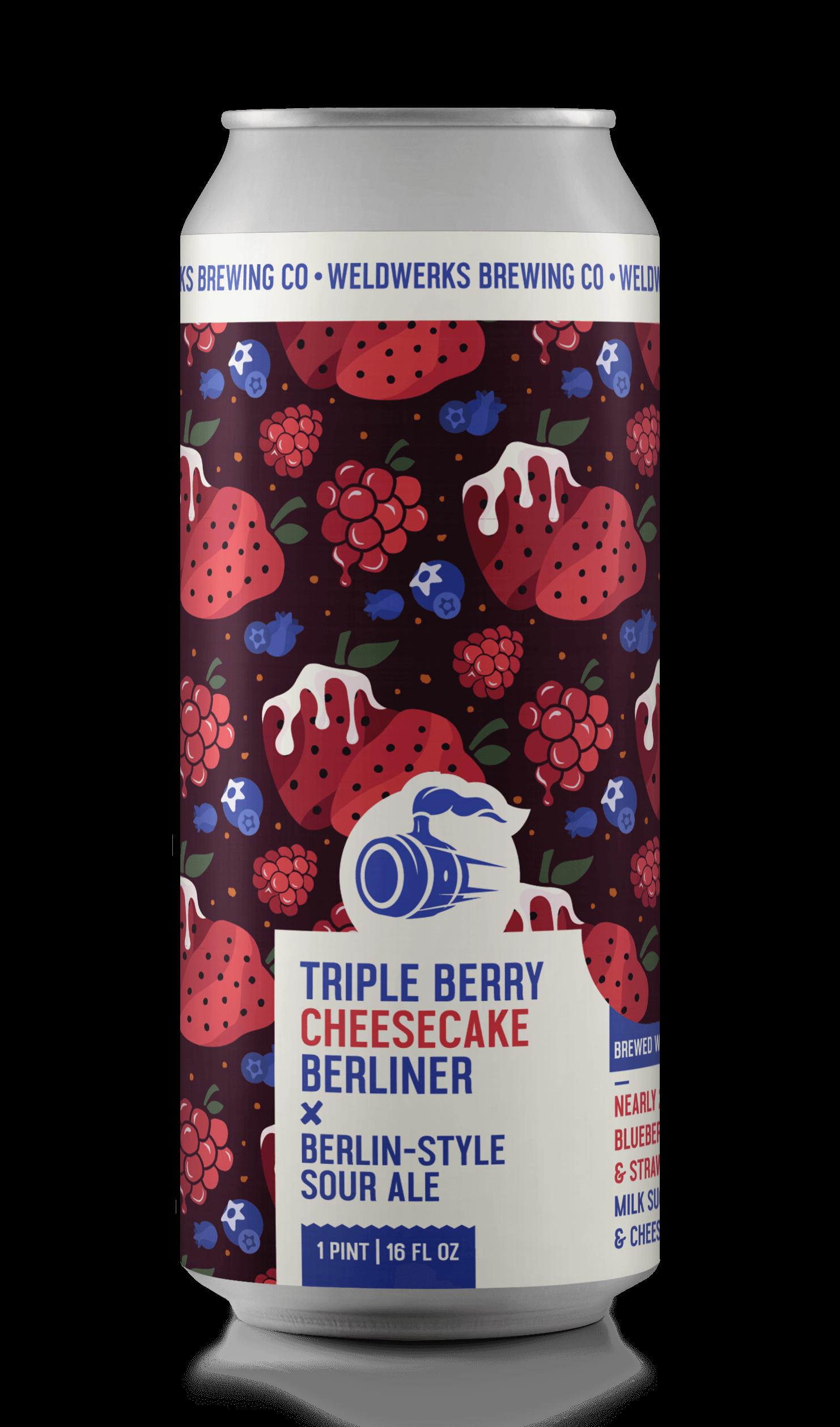 Triple Berry Cheesecake Berliner