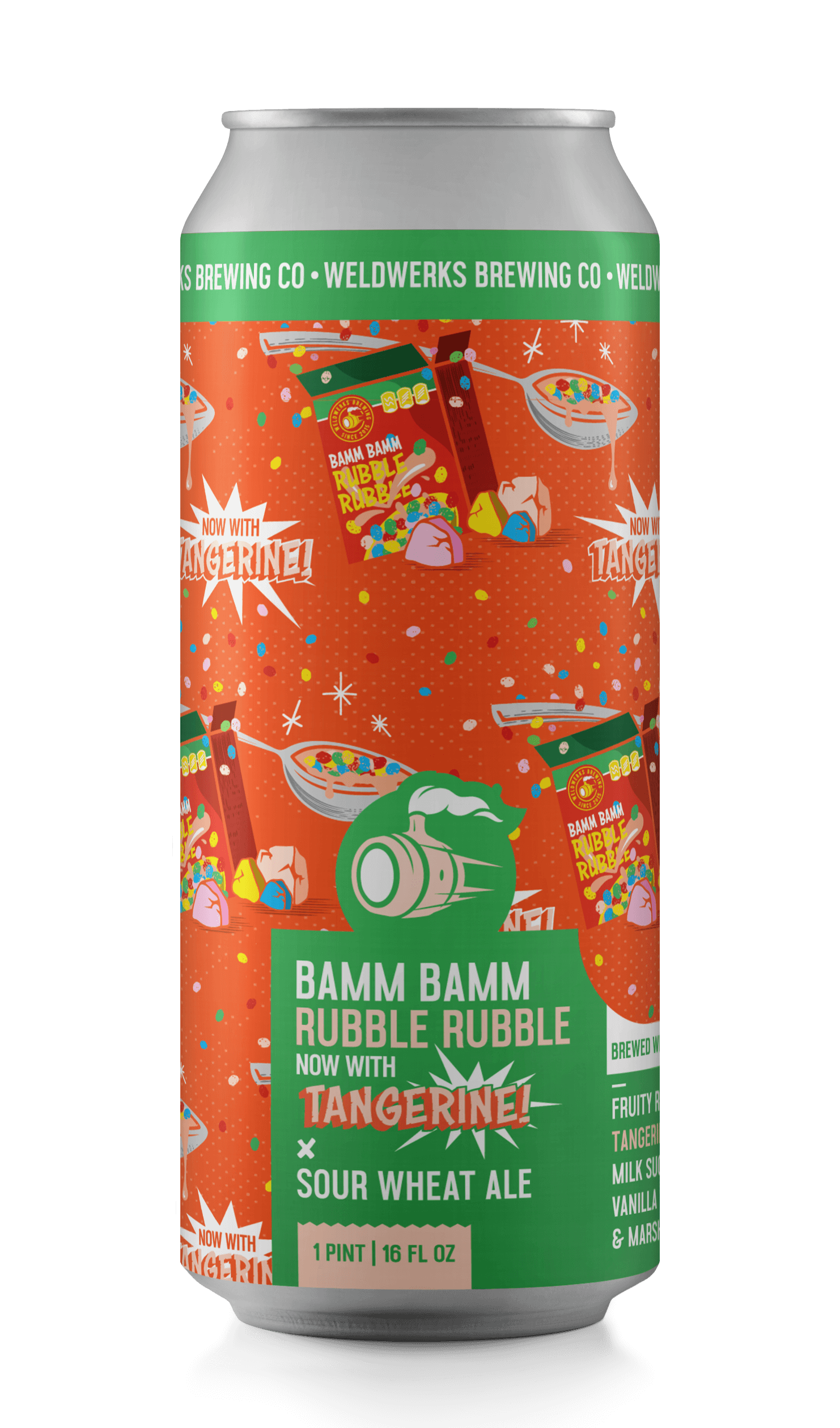 Bamm Bamm Rubble Rubble - NOW WITH TANGERINE!