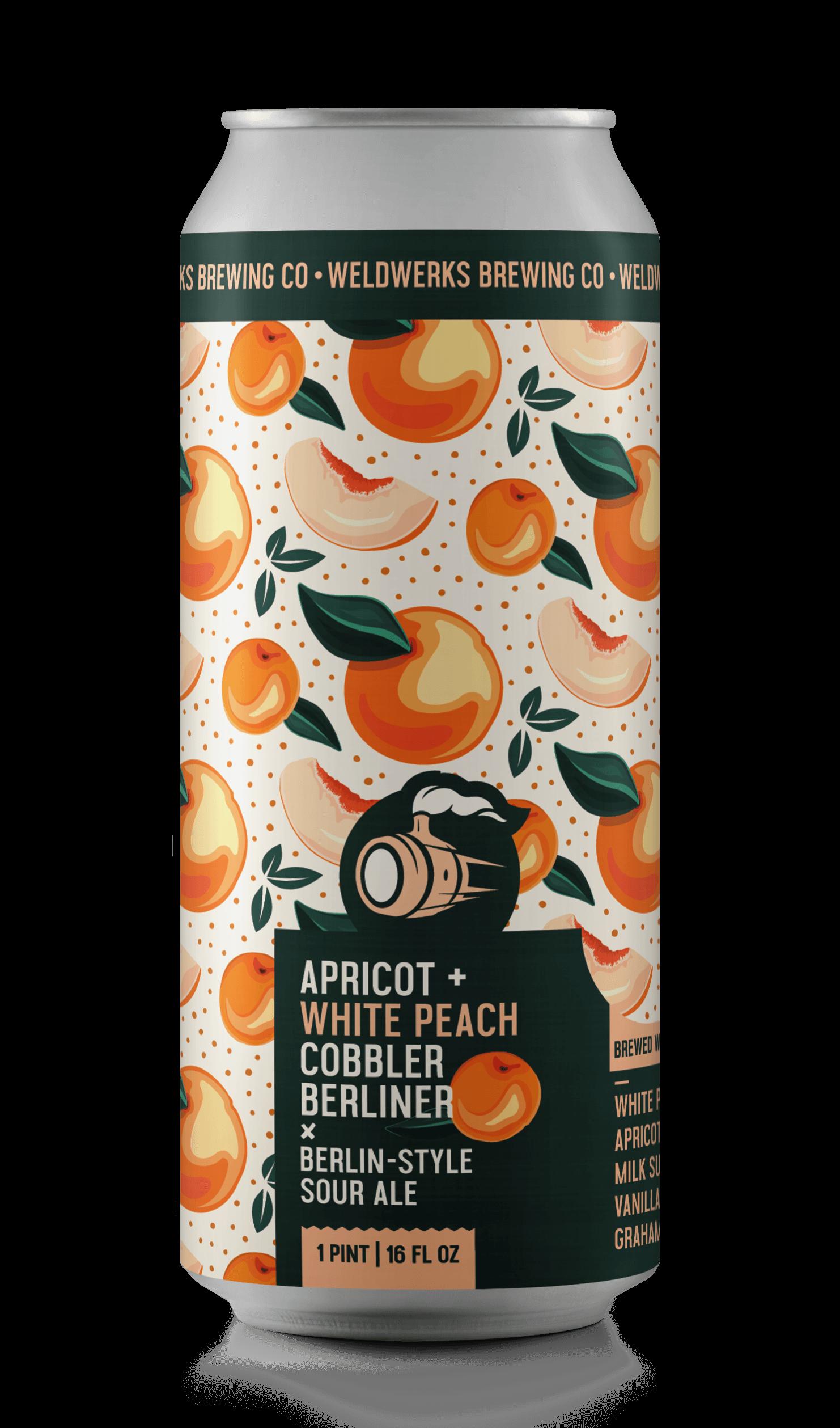 Apricot + White Peach Cobbler