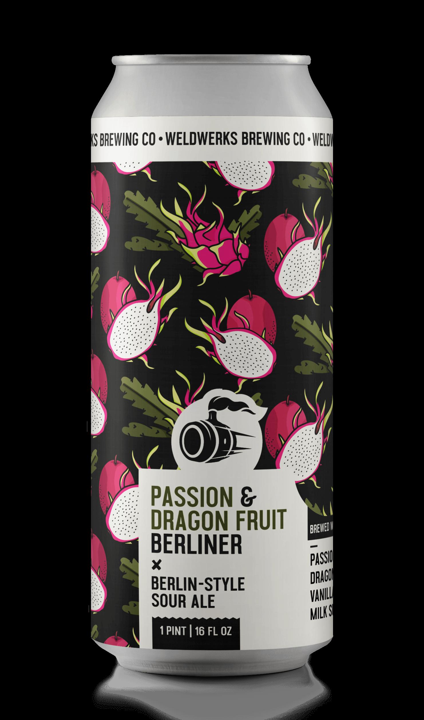 Passion & Dragon Fruit Berliner