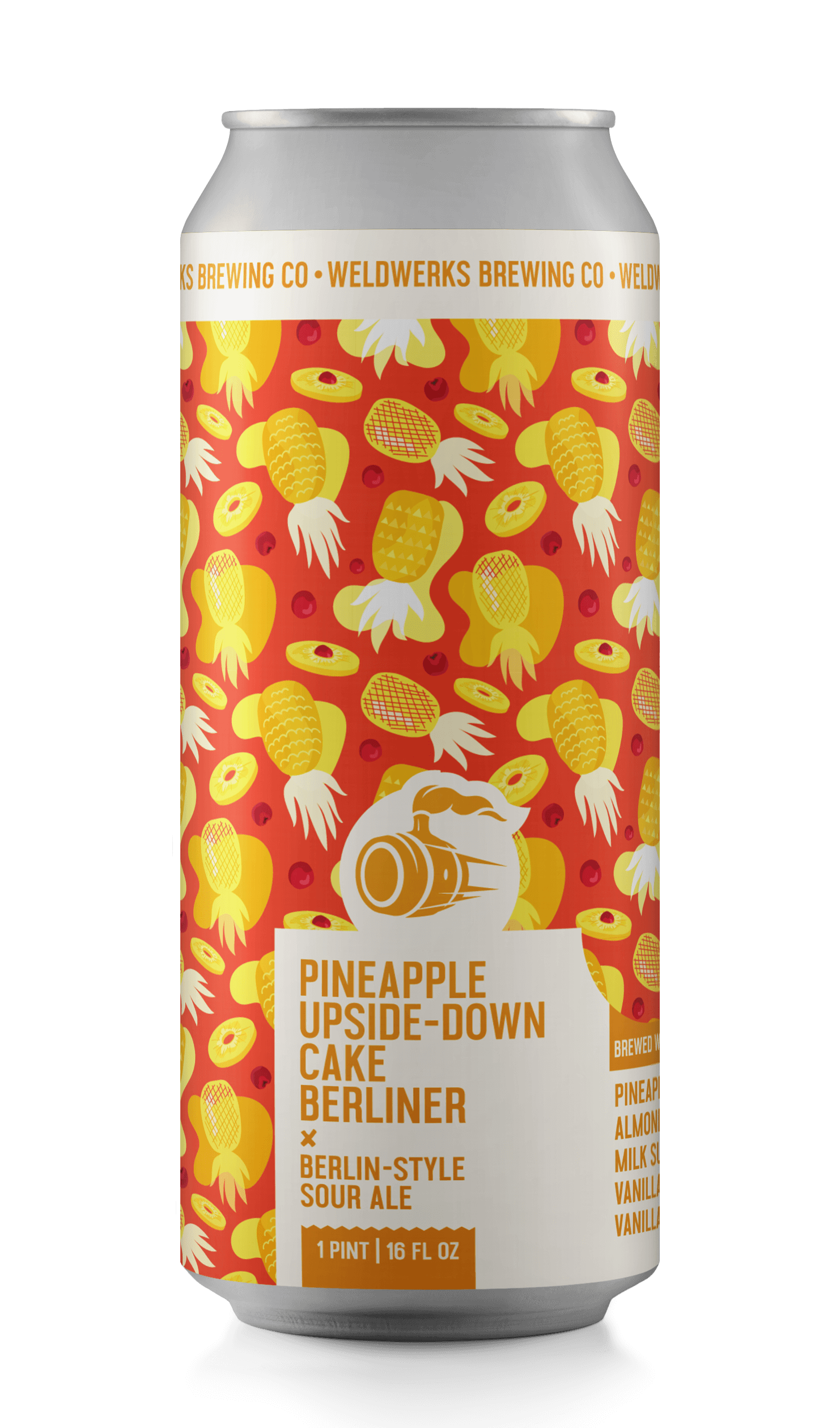 Pineapple Upside-Down Cake Berliner
