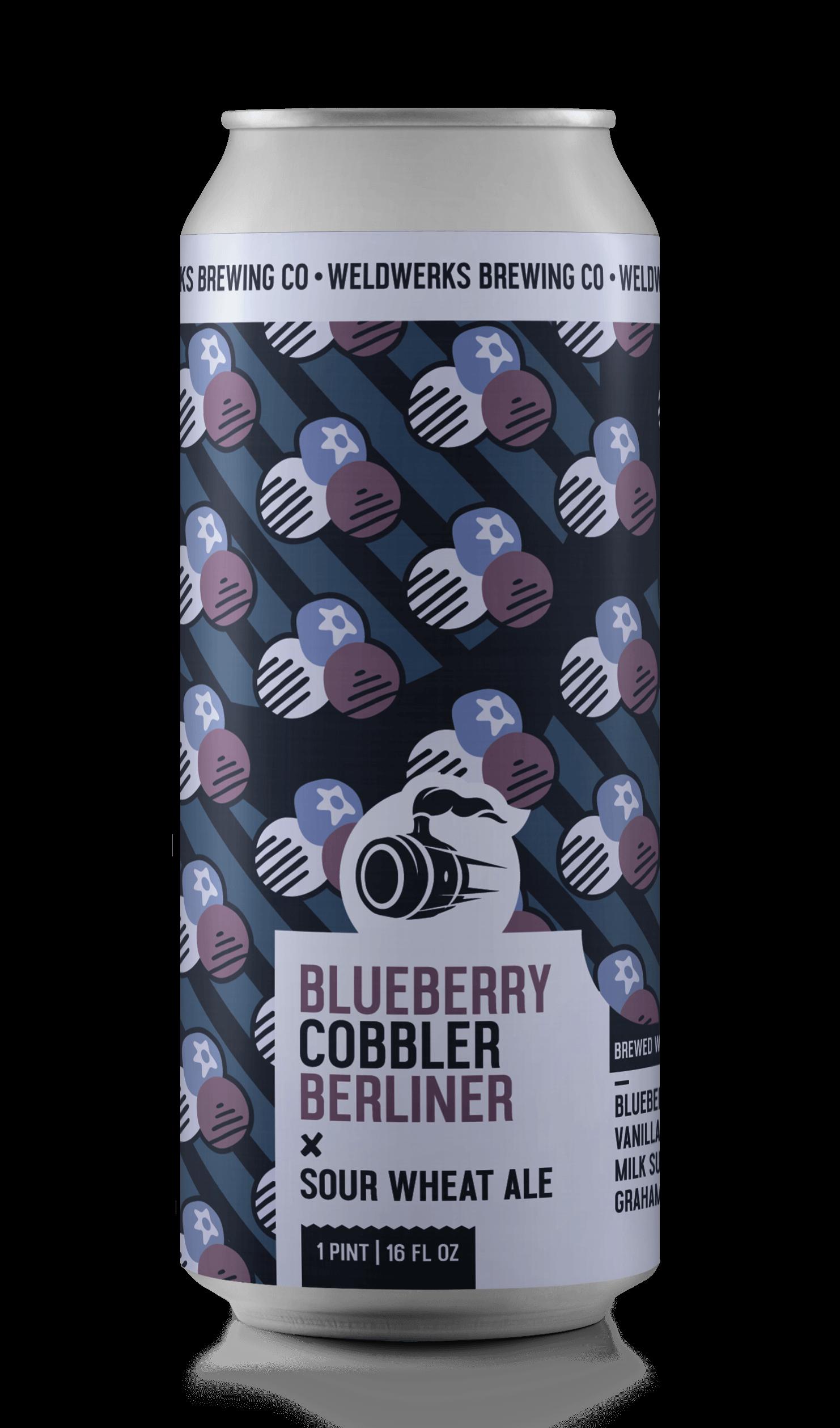 Blueberry Cobbler Berliner