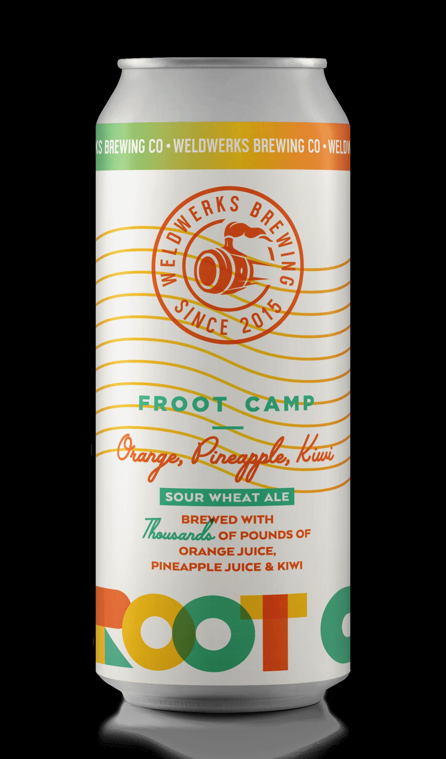 Froot Camp: Orange, Pineapple, Kiwi