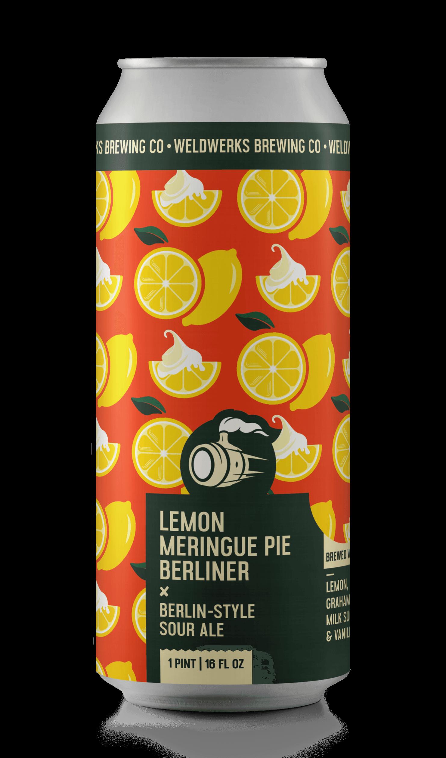 Lemon Meringue Pie Berliner