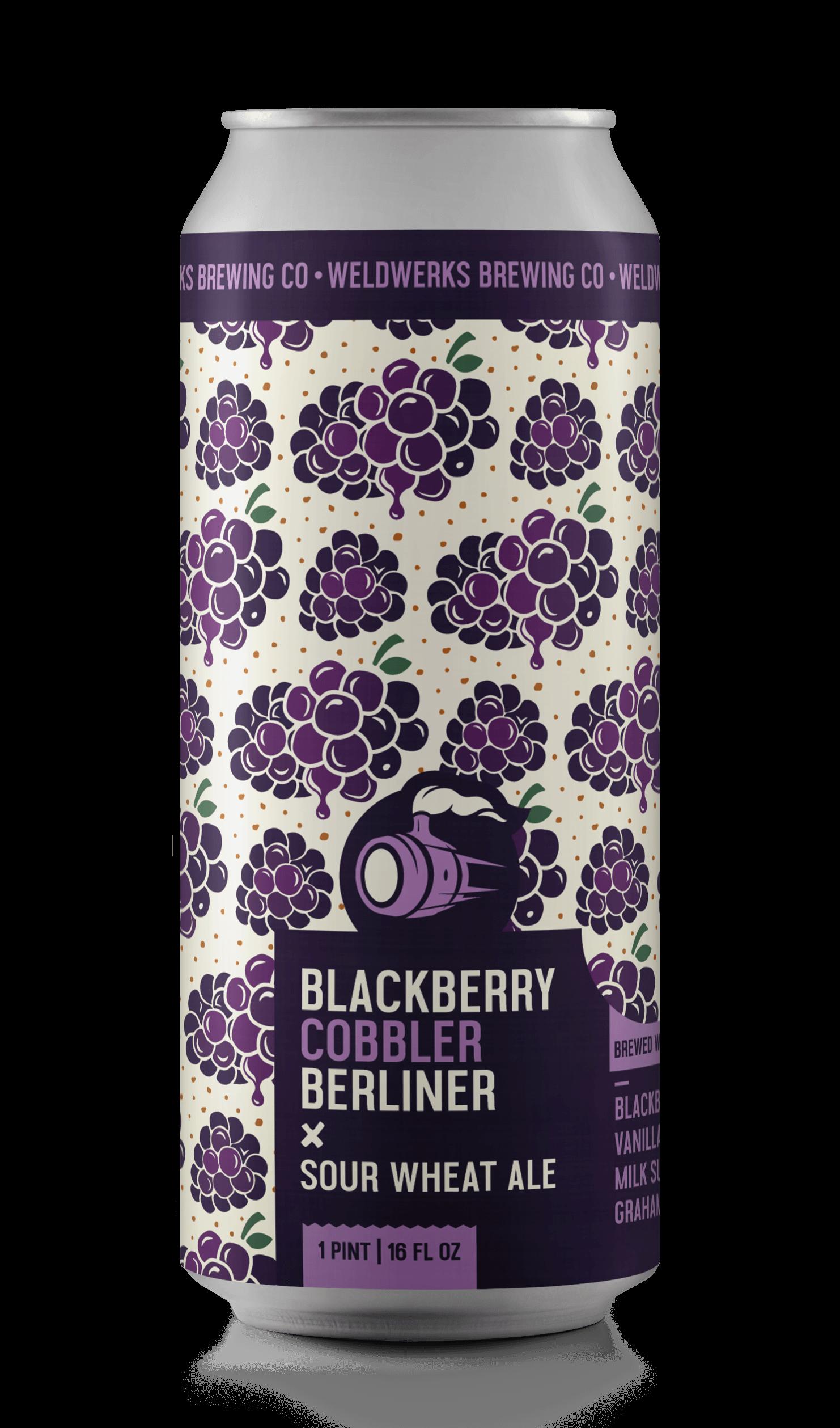 Blackberry Cobbler Berliner