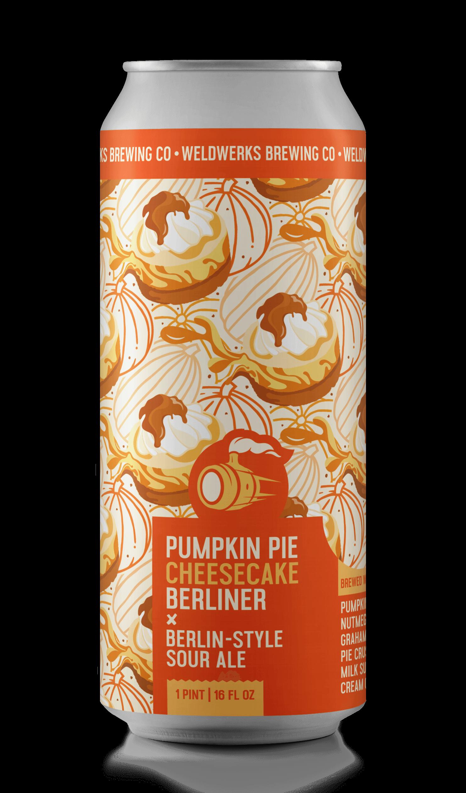 Pumpkin Pie Cheesecake Berliner
