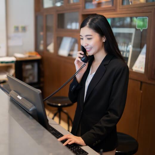 hotel employee
