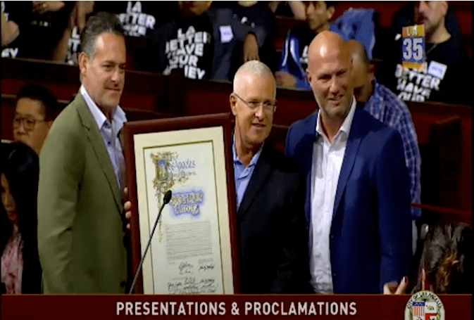 Proclamation From LA Council