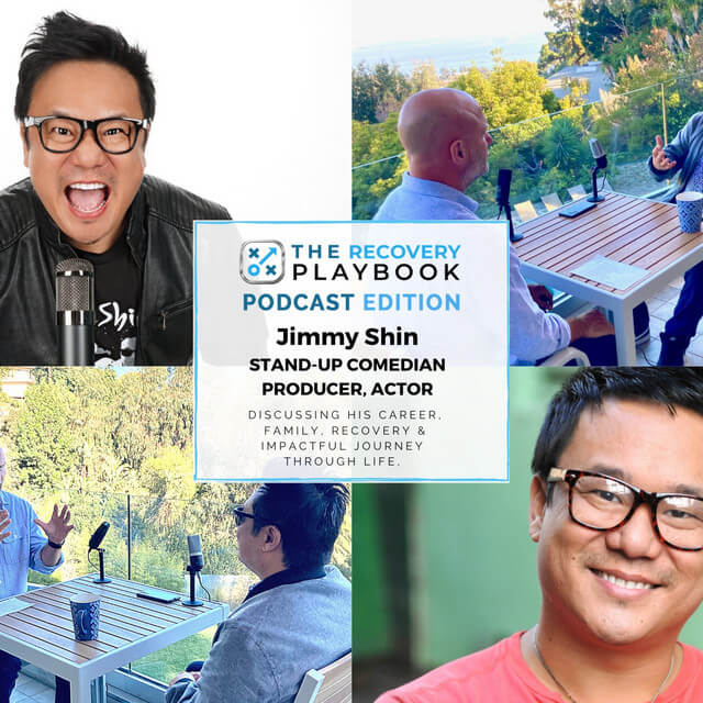 THE RECOVERY PLAYBOOK PODCAST feat: Jimmy Shin