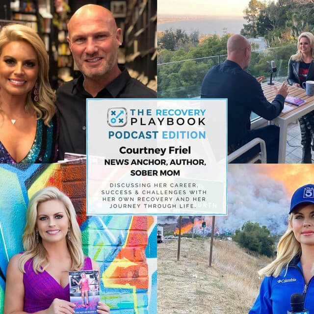 THE RECOVERY PLAYBOOK PODCAST fear: Courtney Friel