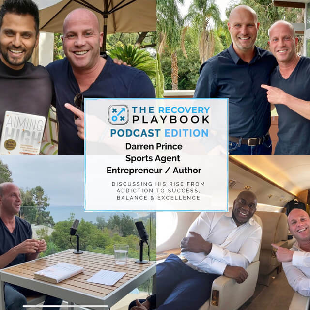 THE RECOVERY PLAYBOOK PODCAST feat: Darren Prince