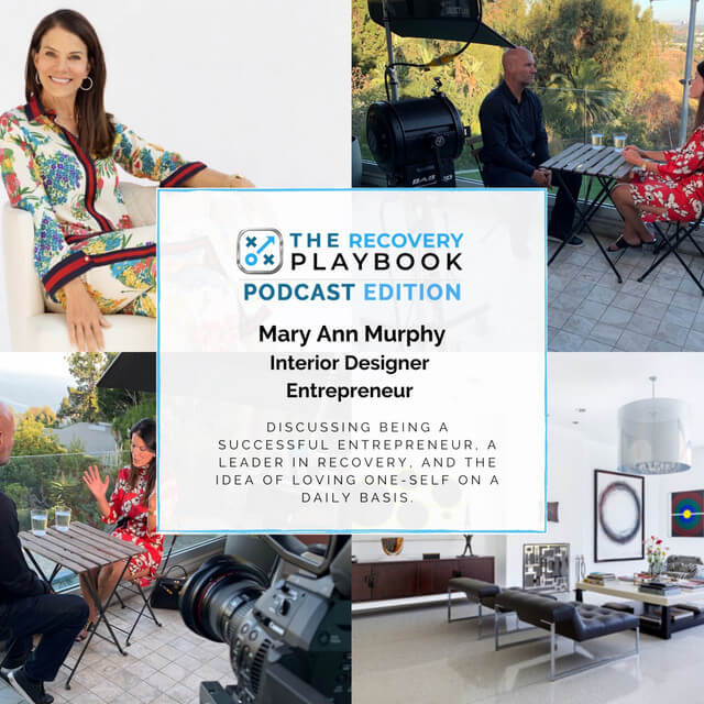THE RECOVERY PLAYBOOK PODCAST feat: Mary Ann Murphy