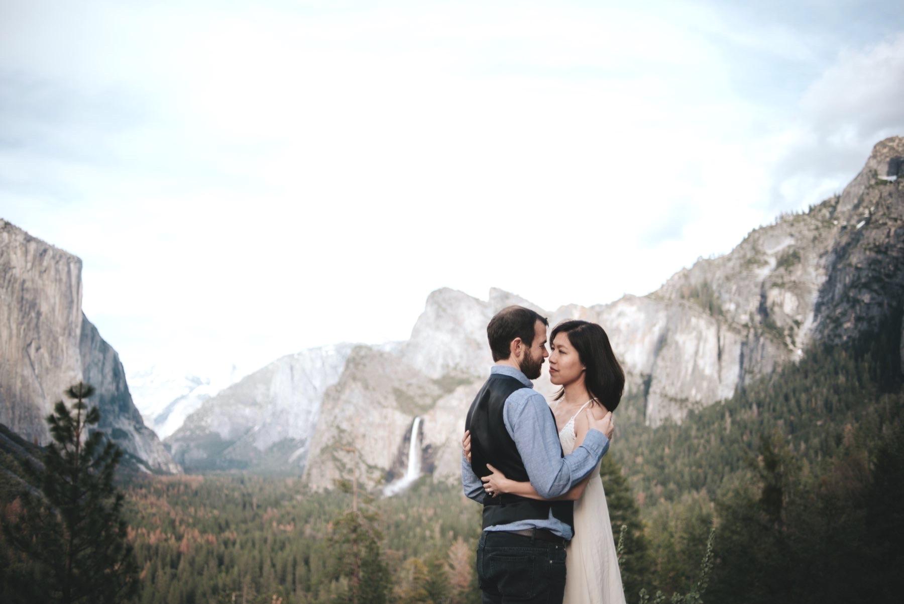 Get married in Yosemite National Park, California.