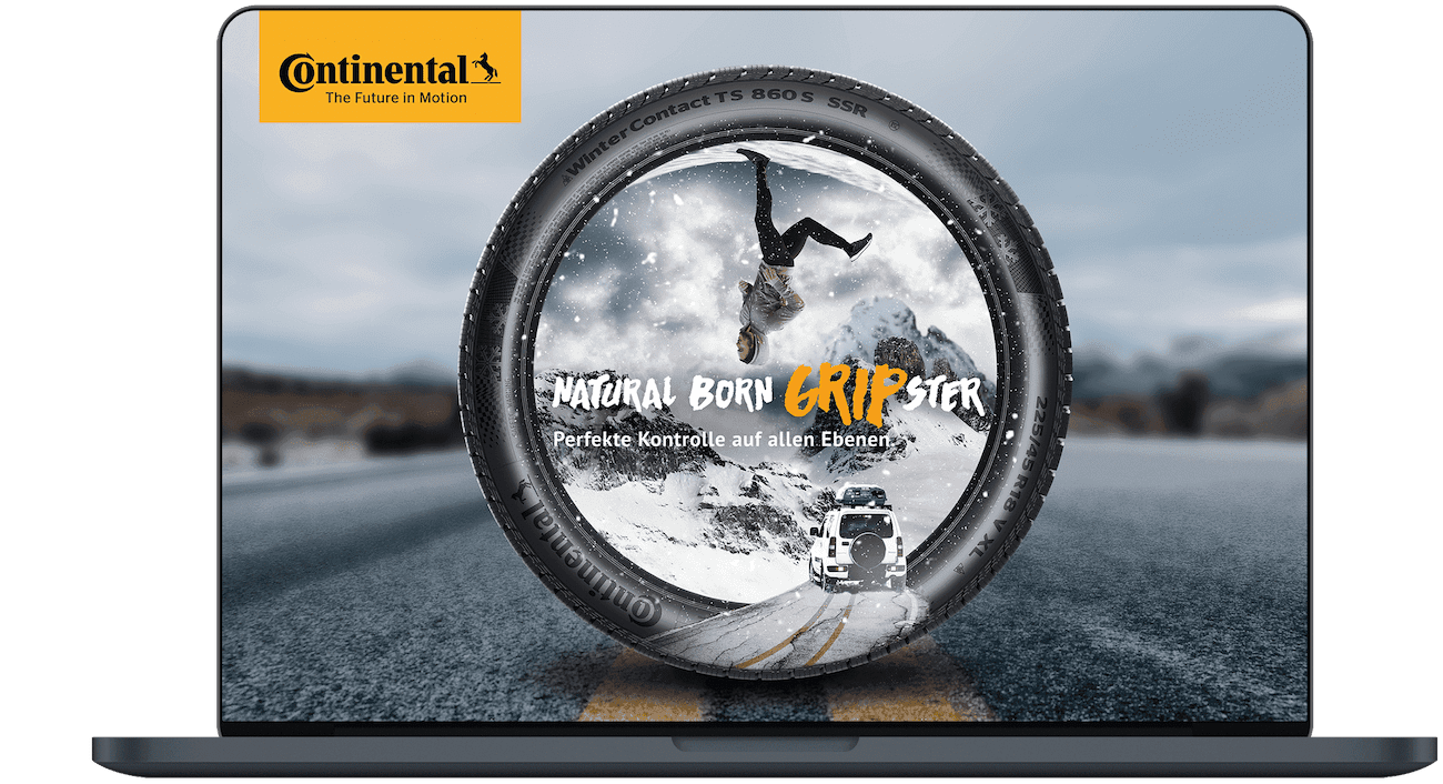 Social media campaign for continental