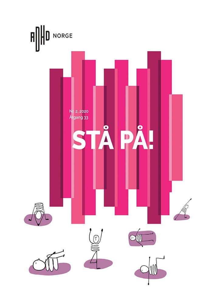 Forsiden til magasinet STÅ PÅ