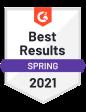 G2 award best results spring 2021