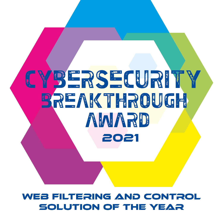 dnsfilter cybersecurity breakthrough award 2021