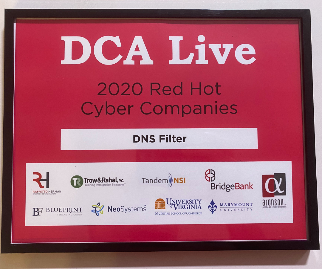 DCA Red Hot Cyber Company 2020