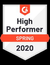 G2 DNS Security High Performer Spring 2020