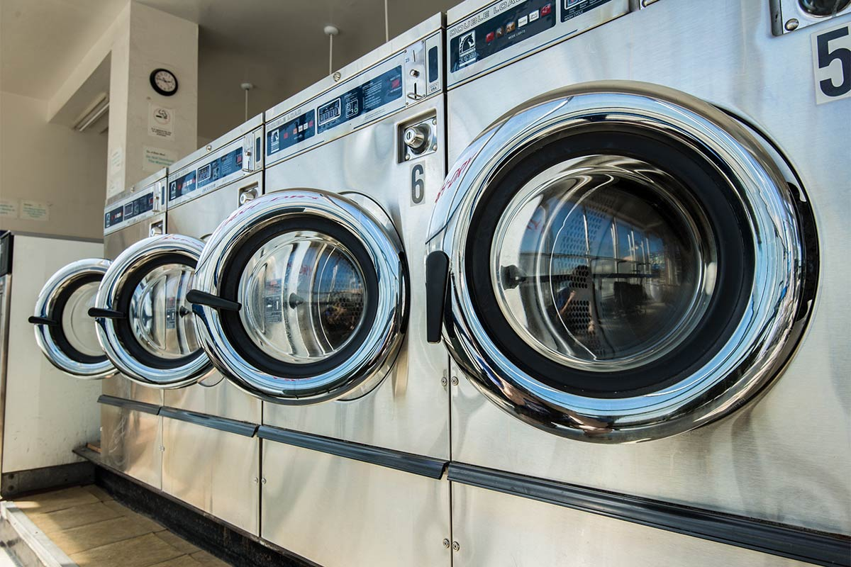 Commercial clothes dryers