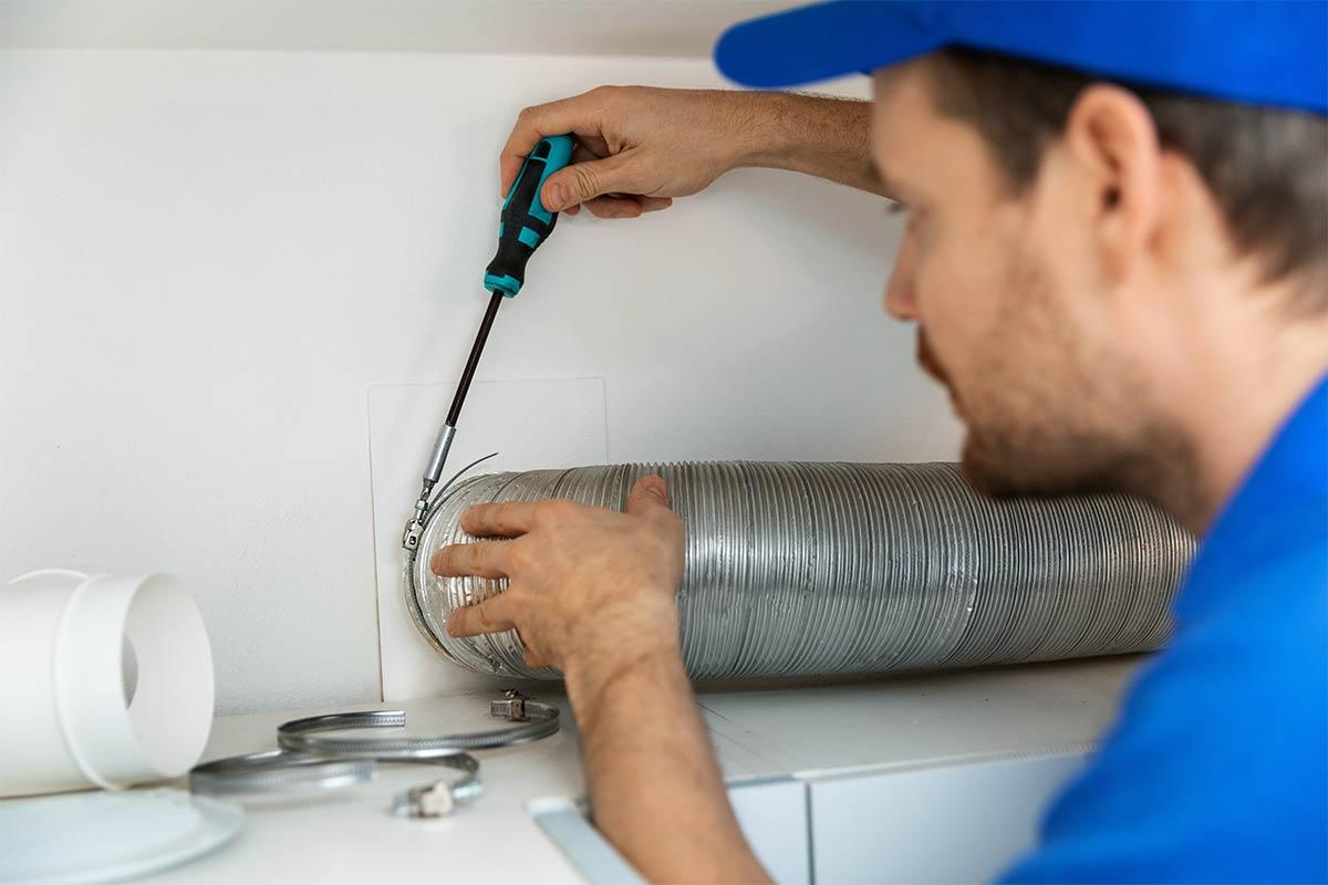 dryer vent repairs