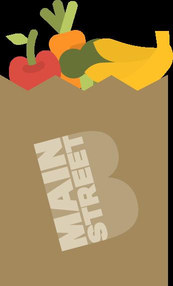 Main Street Boonton New Jersey Farmers' Market Logo