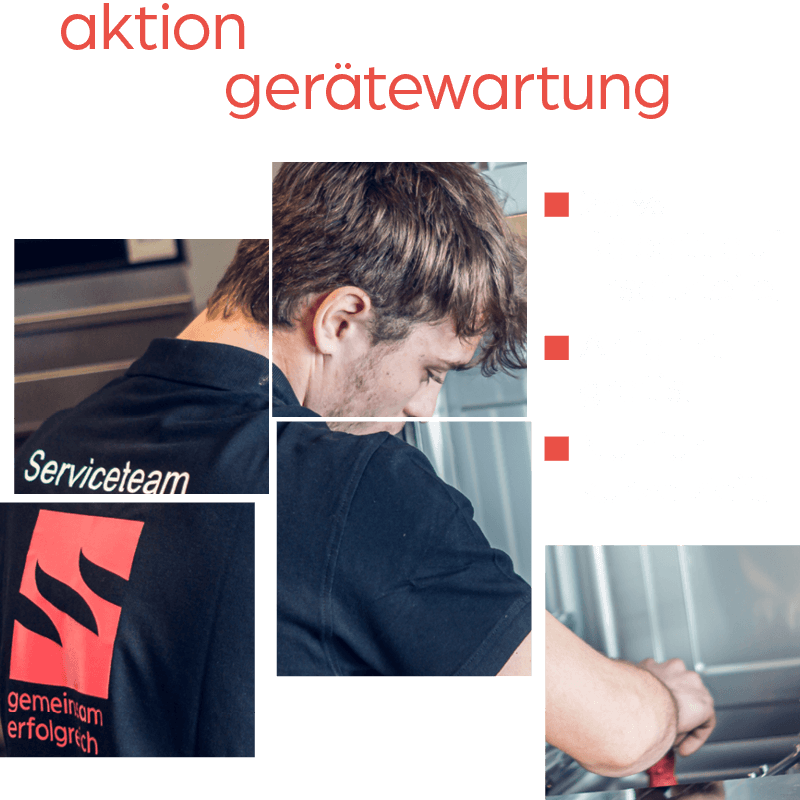 Aktion Gerätewartung