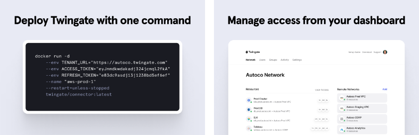 deploy and manage twingate