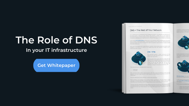 role of dns in it infrastructure