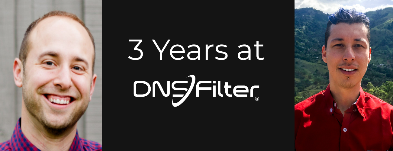 3 years at DNSFilter