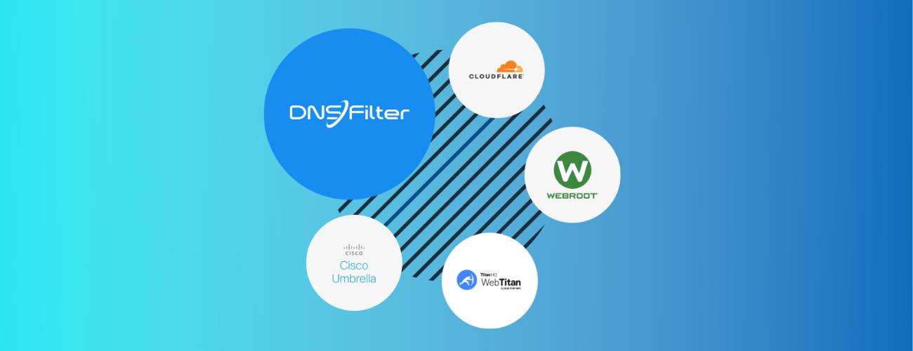 protective dns provider dnsfiler cloudflare webtitan webroot cisco umbrella