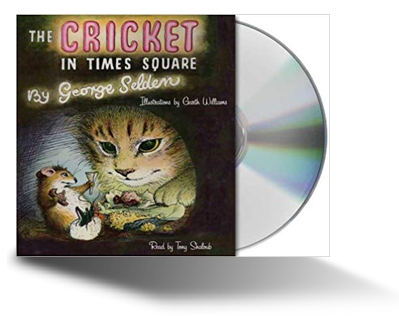 The Cricket in Times Square audiobook cover