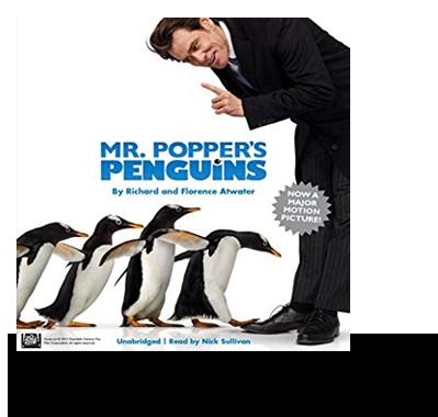 Mr Popper's Penguins audiobook cover