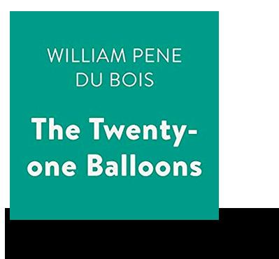 The Twenty-One Balloons audiobook cover