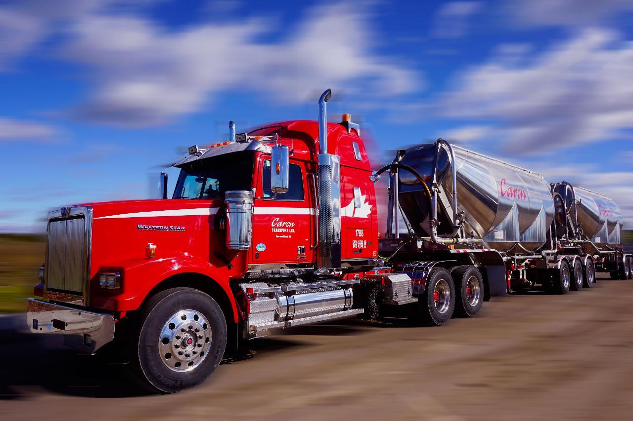 Caron Transportation truck
