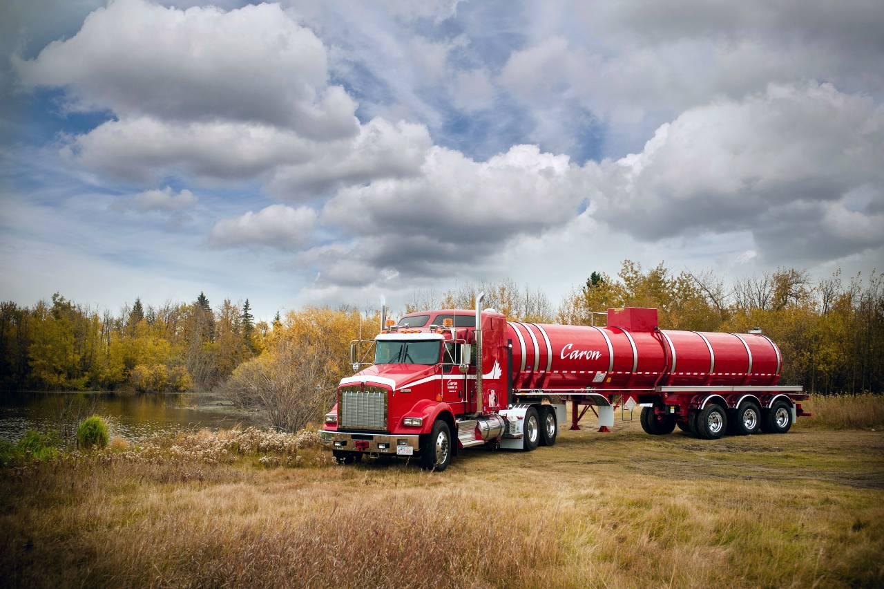 Caron Transport liquid tanker