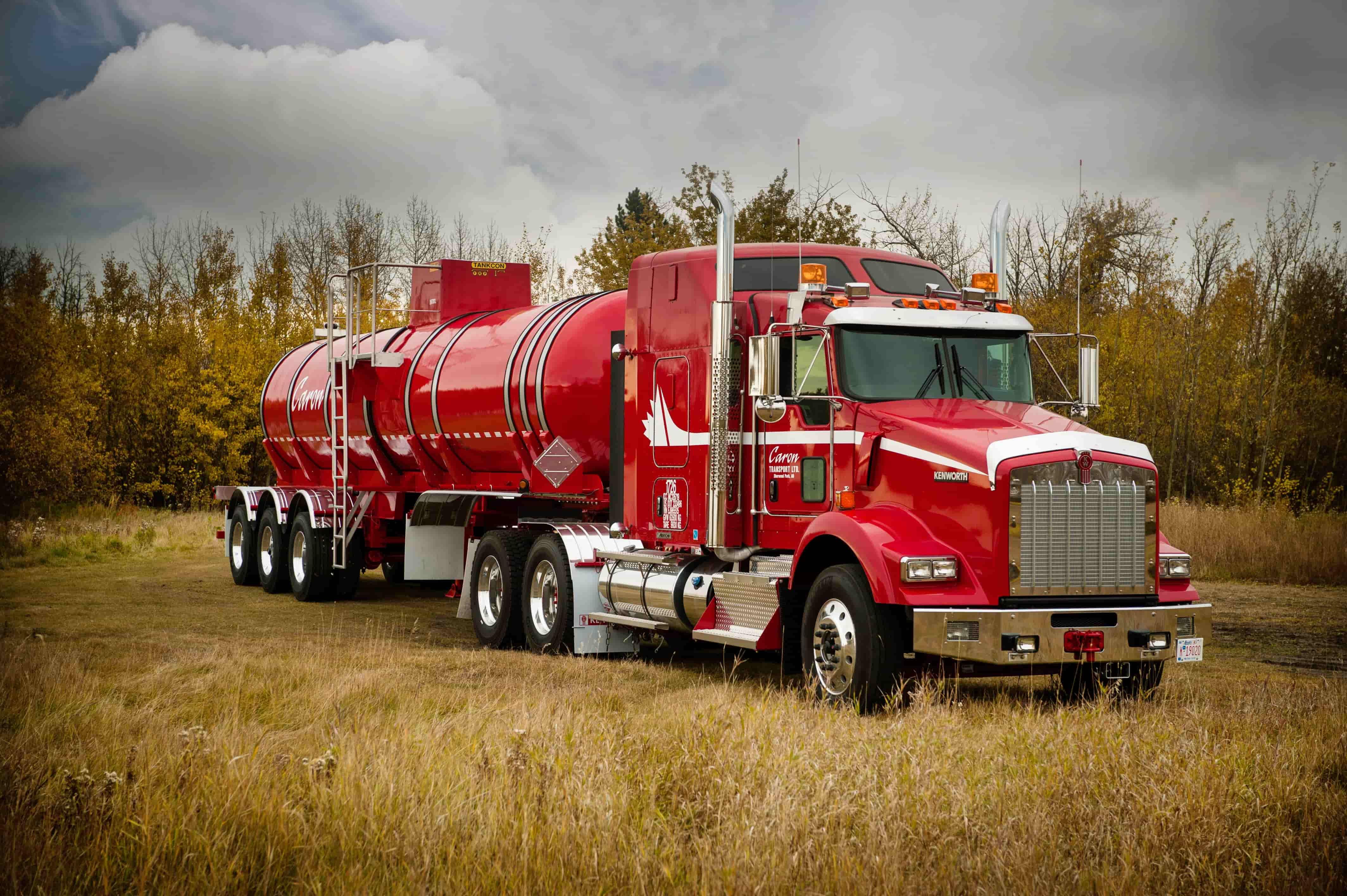 Caron transportation liquid tanker