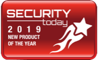 Security today New Product of the Year award 2019