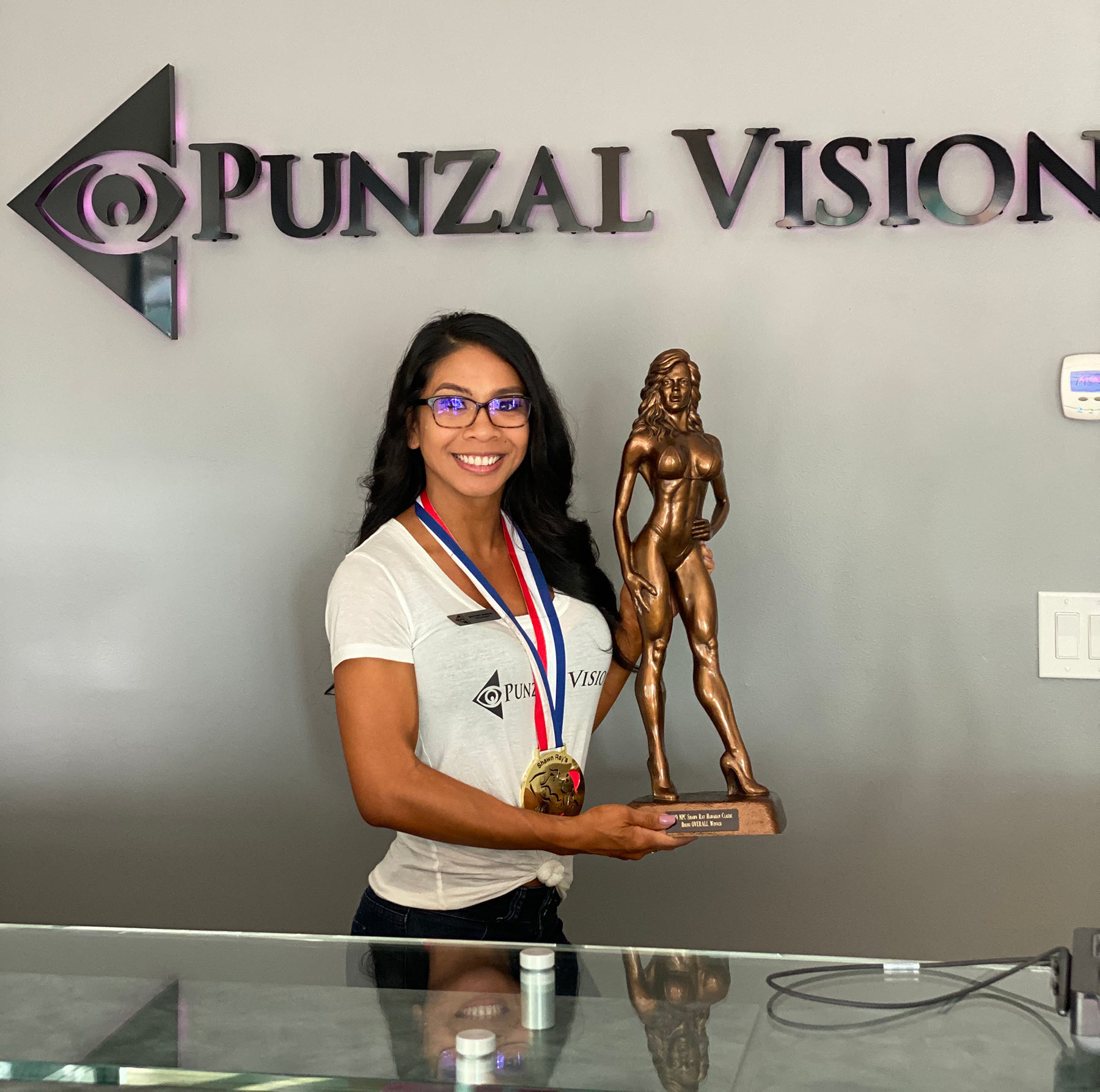 Brittney Marcos is our newest team member at Punzal Vision!
