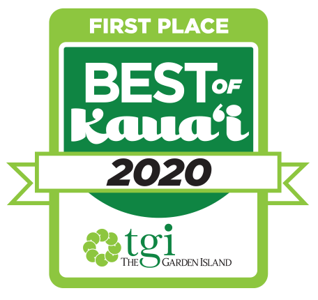 Voted Best Optometrist on Kaua'i 2020